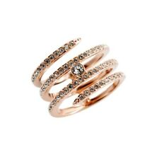 BNWT Swarovski Beautiful Coiled/Spiral Ring with Boxes and Gift Bag