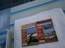 Revue RC Avion modélisme Modéle magazine plan encarté Moni 2 plans 2 revues