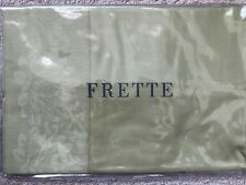 Frette Loto Bordo King Pillowcases, Pair, Palm Grove Green