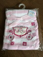 Soft Touch Little Princess Baby Blanket Wrap New