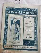 AUSTRALIAN WOMAN'S MIRROR 1930 JUNE 3,WOMENS ISSUES,FASHION,AUSSIE ADS,RARE