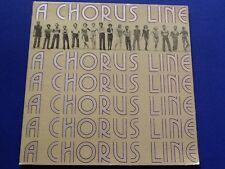 A CHORUS LINE~ original cast recording COLUMBIA RECORDS 1975 ~JS 33581~ Ex++ !!!