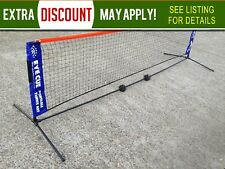 EYE CUE 3-Metre Portable Tennis Net and Post Set with Carry Bag