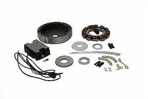 Alternator Charging System Kit 22 Amp for Harley Davidson by V-Twin