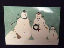 Snowman Holiday Cards by Warren Kimble