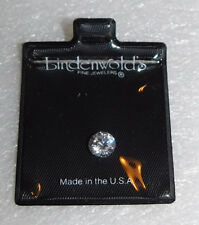 Lindenwold Fine Jewelers Cubic Zirconia Faceted Gemstone Jewelry Stone Fashion