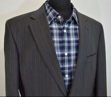 JOS A BANK SIGNATURE mens gray wool 2 button sport coat blazer 42L 42 long l