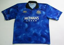 NEWCASTLE UNITED away shirt jersey Asics 1993-1995 The Magpies /adult/ SIZE XL