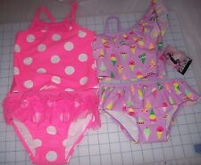 GIRLS BABY/TODDLER JOE BOXER 2PC SWIM SUITS, MULTIPLE COLORS/SIZES  NEW W TAGS