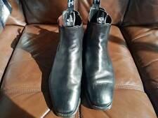 RM Williams 6.5H Black Comfort Craftsman Boots