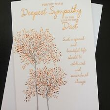 handmade for men and women Forget Me Not Heartfelt Sympathy Card