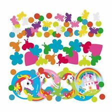 Unicorn 3 Pack Confetti Rainbow Childrens Birthday Party Table Sprinkles
