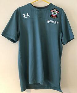 Southampton FC Training Shirt-Adult Medium-Under Armour-Worn Once