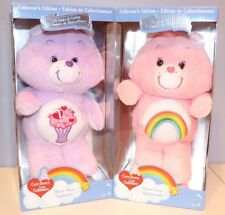 Care Bears!  Share Bear & Cheer Bear 35th Anniversary Collectors Edition