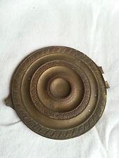 Couvercle de pendule 19ème en cuivre ou bronze