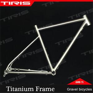 TIRIS Titanium Frame Gravel Endurance Road Cyclocross Bike Bicycle Custom
