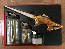 Airbrush Equipment: One Paschs VL, Two Binks Wren B, and Extras