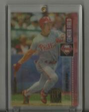 Lenny Dykstra 1995 Pinnacle Sport Flix Artist's Proof #42  EX to NM cond