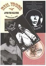 5 NEIL YOUNG  POSTCARDS. After the Goldrush.
