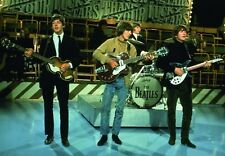 The Beatles Come Together On Stage Band Group Photograph Image Postcard Official