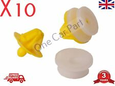 10x CLIPS FOR LAND ROVER FREELANDER RANGE DISCOVERY BUMPER WHEEL ARCH TRIM MOUNT