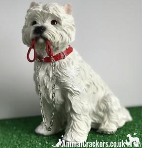 Large West Highland Terrier Westie ornament, Leonardo Walkies figurine, boxed