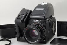 N.Mint Hasselblad 503CW Black 80mm CF A12A16 Back Winder PME90 Etc fromJapan#o10