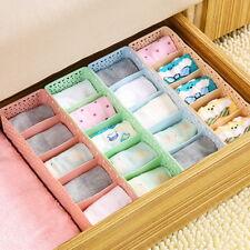 5Gitter Kosmetik Aufbewahrungsbox Krawatte Unterhose Socken  Schublade Organizer