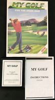 Atari 2600 My Golf (1990)- Complete - Game cartridge tested and working.