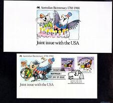 Australia Bicentennial Folder 1788-1988 Presentation Pack & Fdc