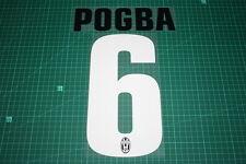 Juventus 12/13 #6 POGBA Homekit Nameset Printing