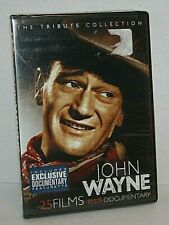 John Wayne Tribute Collection 25 Films Plus Documentary DVD Region 1 NEW