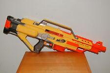 Nerf N-Strike Stampede ECS Battery Operated Gun Yellow Orange