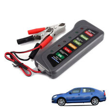 12V Car Digital Battery Alternator Tester 6 LED Light Display Diagnostic Tool ES