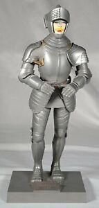 1956 Aurora Plastics Silver Knight Of Augsburg. Vintage Medieval Toy Model