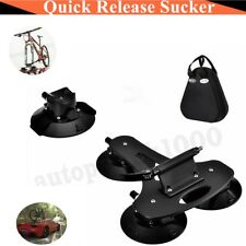 NEW rock bros Roof-top Bike Rack Car Bicycle Suction Cup Install Carrier 2019