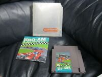 Pro-Am Racing Nintendo NES Game