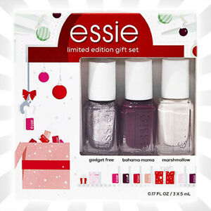 Essie Holiday Nail Color 3 Piece Mini Kit LIMITED EDITION