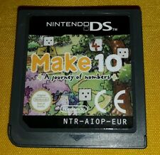 MAKE 10 A JOURNEY OF NUMBER - Nintendo DS - NDS - Game Gioco 3DS 3 2 DS XL Lite