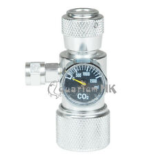 HSL Co2 Moss Plant Aquarium Single Pressure Gauge JIS m22-14 Regulator Manometer