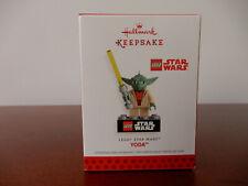 HALLMARK LEGO STAR WARS YODA ORNAMENT 2013