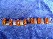 schönes ,altes Armband__Bernstein__835 Silber___33,8 Gramm__