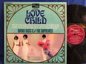 DIANA ROSS SUPREMES LOVE CHILD TAMLA BIEM ORIGINAL FRANCE LP NEAR MINT