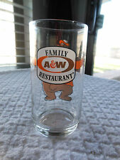 Vintage A & W Family Restaurant Glass!