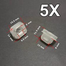 5X Door Insert Wood Trim Strip Grommets for BMW E46 E90 E91 E92 E93 E53 LCI
