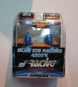 Ford Fiesta Mk VI Day Lights H15 Xenon Effect Whitest 4200k Simoni Racing