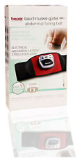Beurer EM 30 Bauchmuskelgürtel, EMS Bauch-Training mit 2 Kontaktelektroden MJ449