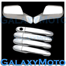 08-11 FORD FOCUS Chrome plated ABS Mirror+4 Door Handle w/o PSG Keyhole Cover