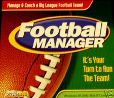 Football Manager Cdrom Computer Software Team Manage