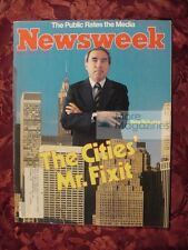 NEWSWEEK Magazine May 4 1981 Felix Rohatyn Cities India Shiva Northern Ireland
